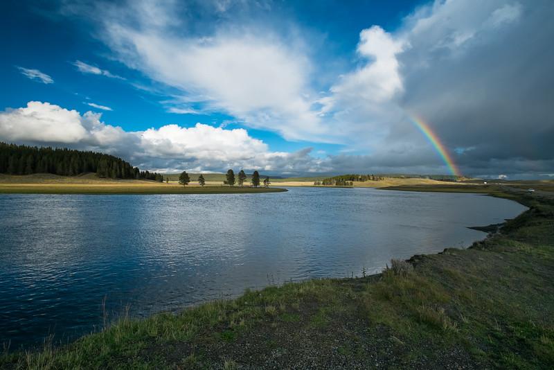 Rainbow, North Yellowstone Park