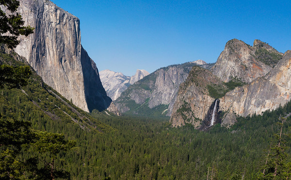 Tunnel View / Yosemite Valley, Ultra Large