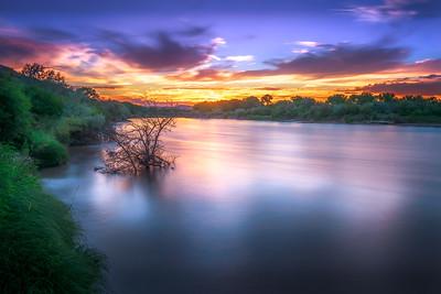 """""""River Sunset"""" @ McInnis Canyons NCA (Fruita ,CO)"""