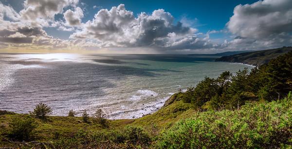 """Wind and Waves"" @ Muir Beach (California)"