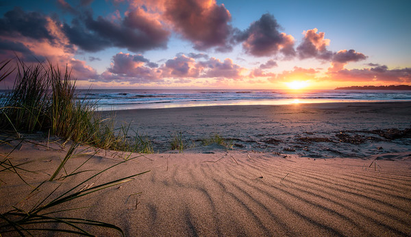 """Contours"" @ Stinson Beach (California)"