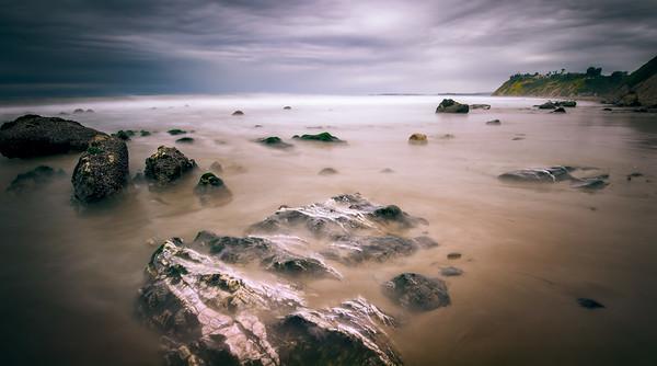 """Hazy Beach"" @ Santa Barbara (California)"
