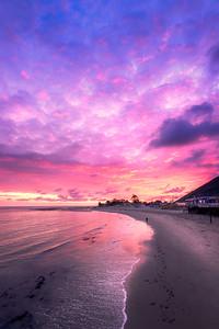 """Long Walk"" @ Malibu Beach Pier (California)"