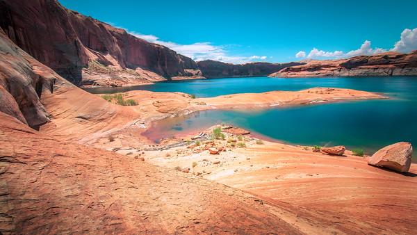 """Silk and Sand"" @ Lake Powell (Bullfrog / Hall's Crossing, Utah)"