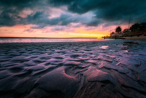 """Sandy Sunset"" @ Malibu Beach (California)"