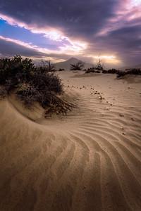 """Fibonacci"" @ Mojave Desert (California)"
