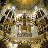 Palatine Chapel (inside Aachen Cathedral) with Barbarossa Chandelier