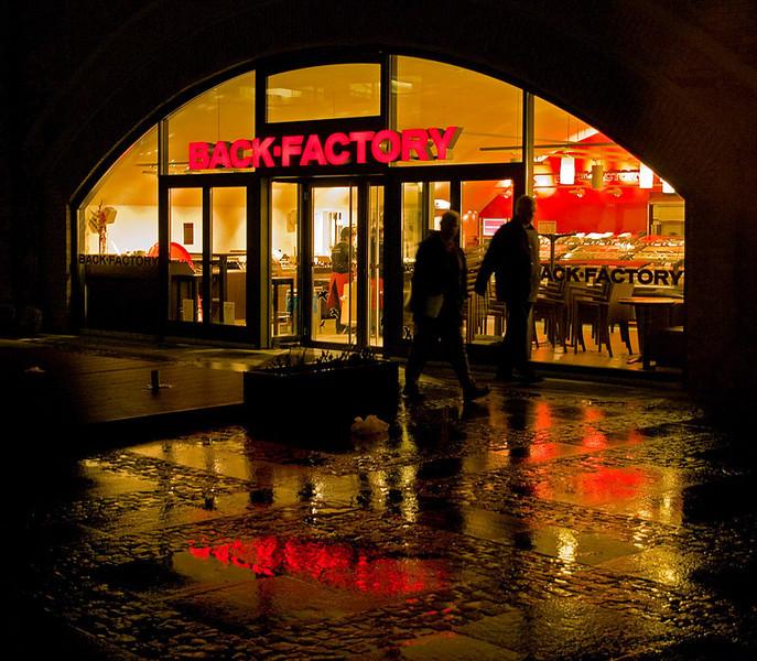 """""""Backfactory"""" at Alexanderplatz"""