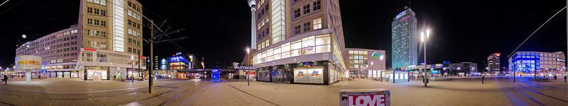 360 degree pano of Alexanderplatz