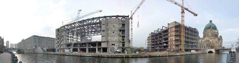"""Remains of the """"Palast der Republik"""" (Palace of the Republic) November 2007"""