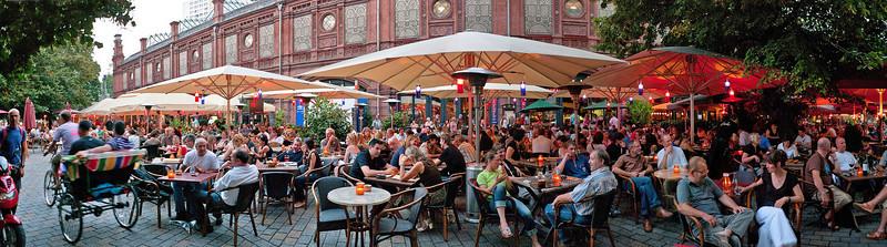 Hackescher Markt in the summer