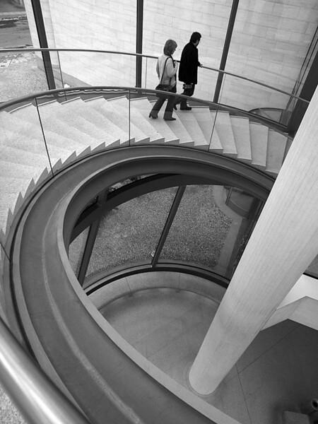 Inside the Pei building - German Historical Museum