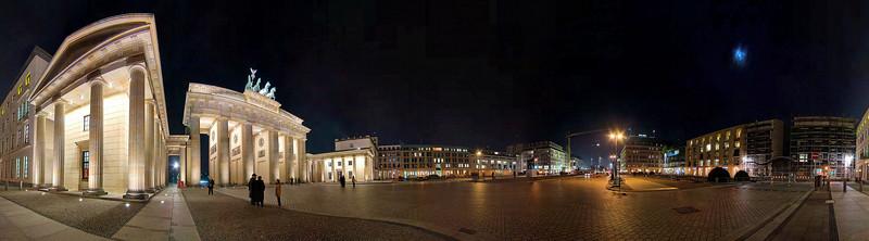 Brandenburg Gate - 360 degree pano