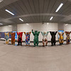 360 degree panoramic view of the exhibition