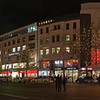 Breitscheidplatz looking towards Kurfrstendamm with Christmas decoration