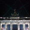 Illuminated Brandenburg Gate