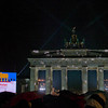 "Brandenburg Gate with Video wall signaling ""Celebration of Freedom"""