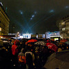 Crowd nearing Pariser Platz / Brandenburg Gate