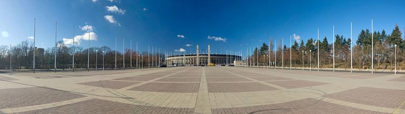 Olympic Stadium (outside)