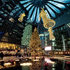 Christmas Market decoration at Sony Center