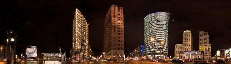 Potsdamer Platz, Sony Center and nearby