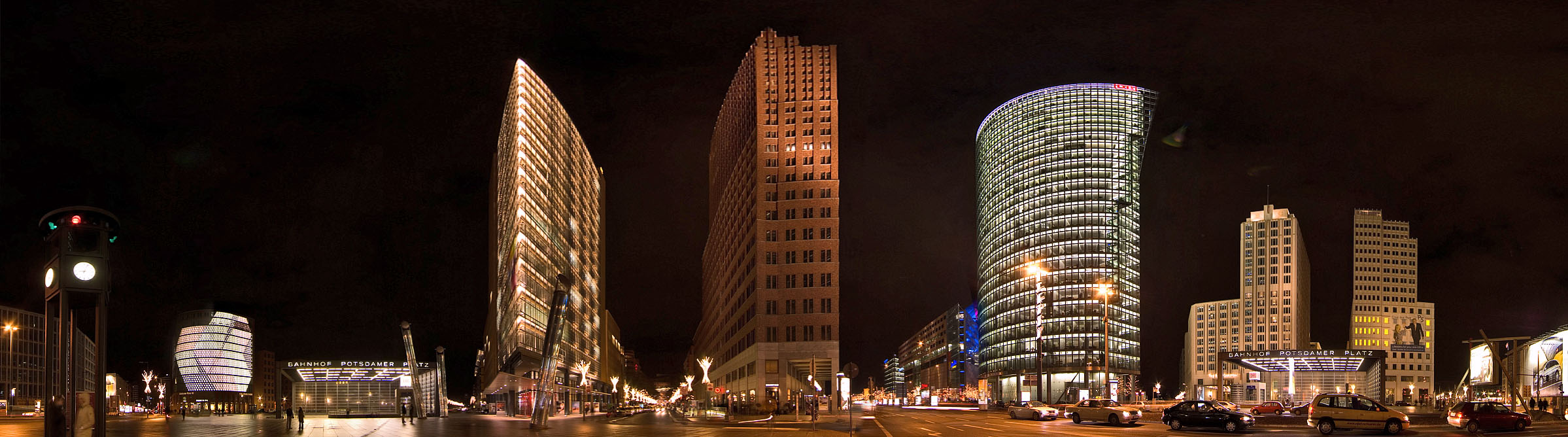 Potsdamer Platz, Sony Center and nearby