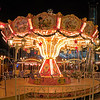 Merry-Go-Round at a Christmas Market at Potsdamer Platz