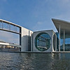 Pano of Spree with Marie-Elisabeth-Lders-Haus