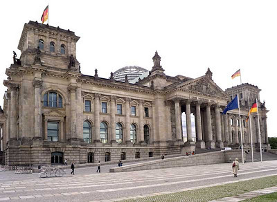 Reichstag and nearby