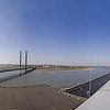 Rhine pano from a rooftop
