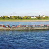 Long ship on the Rhine