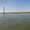 360 degree panorama, Duesseldorf, Rhine promenade