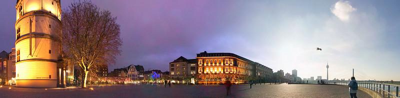 Burgplatz, Duesseldorf