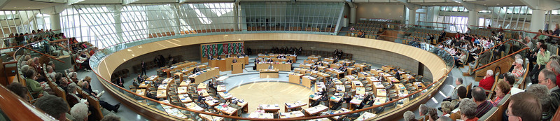Parliament of North-Rhine Westphalia, Duesseldorf