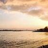 Evening at the Rhine - in Lank, near Duesseldorf