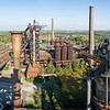 Panorama from blast furnace #5, looking towards #2