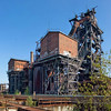 Panorama - blast furnaces #1 and #2