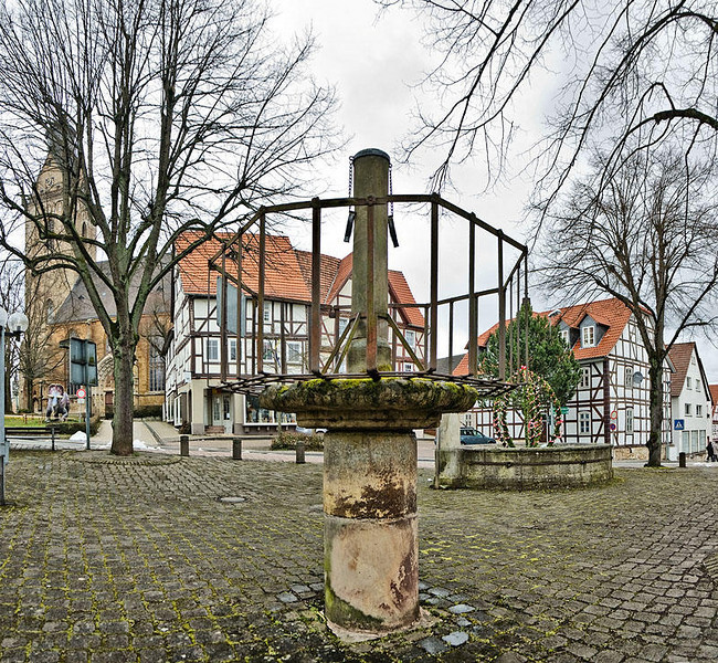 Old Market Square with Pillory