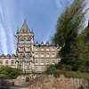 Panorama of an old university building, Marburg