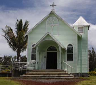 Star of the Sea Painted Church Exterior