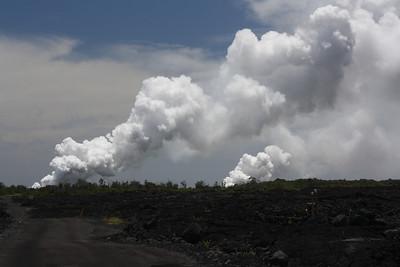 Kilauea Volcano Plumes