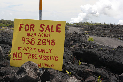 You, Too, Can Own a Lava Field Home!