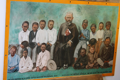 Father Damien Wall Painting