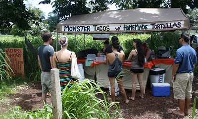 Monster Tacos Food Stand