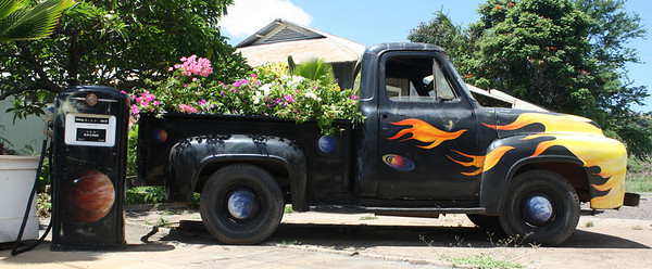 Flaming Truck