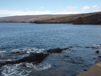 Coastline View from Harbor