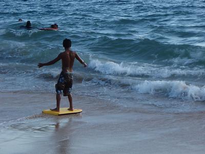 Boogie Board Surfing