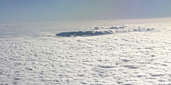 Haleakala Volcano Above the Clouds