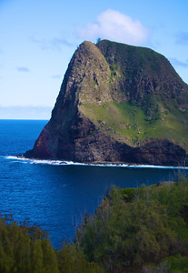 Closeup of Kahakuloa Head