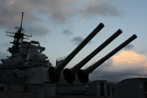USS Missouri and East Loch